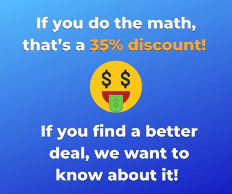 discount combine