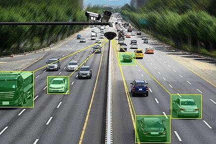 speed camera on highway